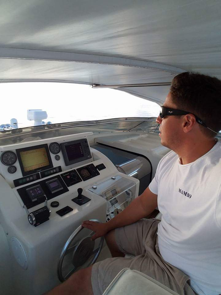 My 30 yro son Blake E. (Max-named after the Road Warrior) Davis- who has a degree in Marine Biology who has been working commercial gigs for years now has his Captains License and is gigging on a 112' Azimut. In five or six years when he has gained more Yacht Experience- THIS will be the Blake Davis of Blake Davis Yacht Brokerage Inc.