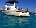 The Bahamas- just 'right over there' where the water is as clear as the air. This could be you. This boat has the range to cross oceans.