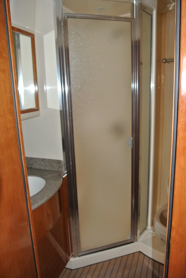 The Separate Shower Stall In The Guest Head