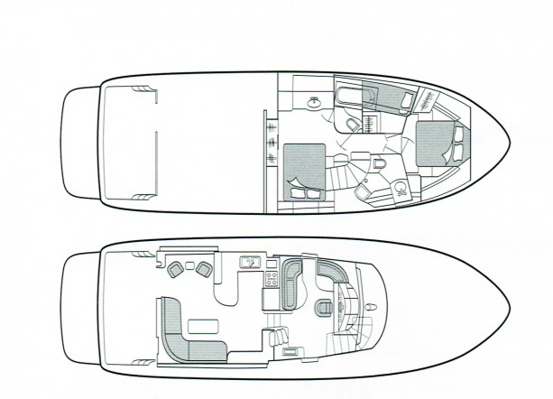 Bayliner 5288 Layout Drawing
