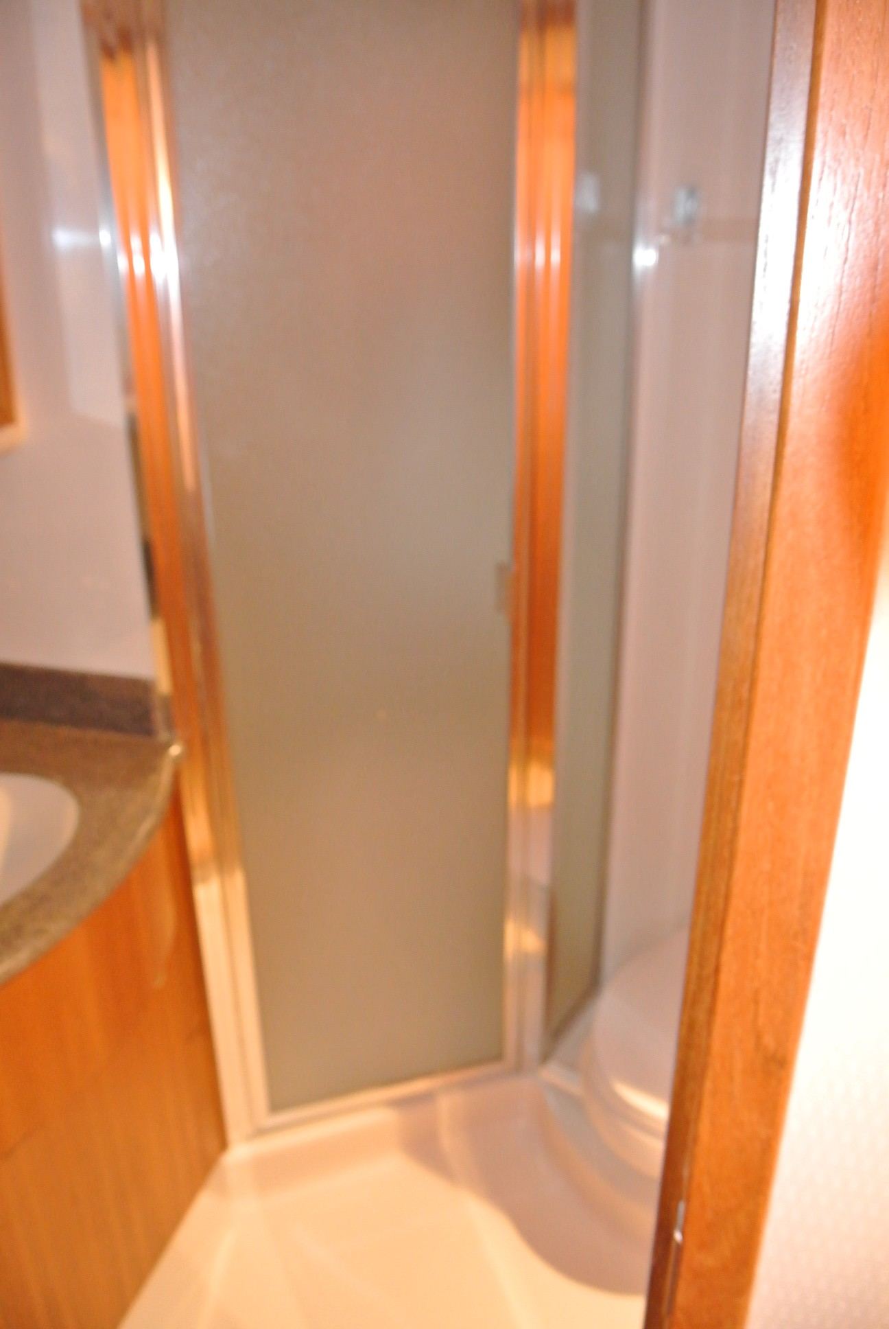 Separate Shower Stall in the VIP Head.