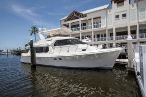 55′ Hampton Pilothouse MY  …..