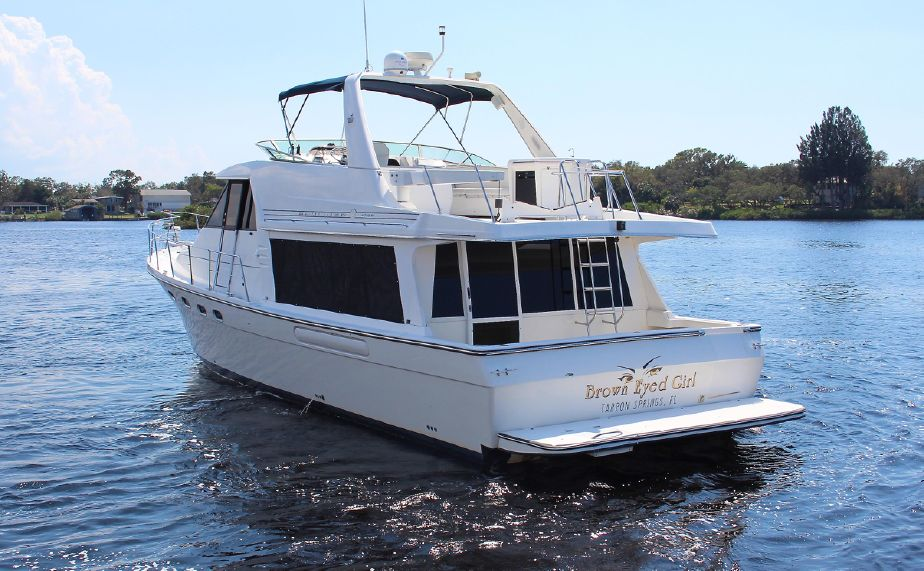 Bayliner 4788 2000 model Pilothouse