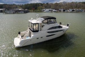 45′ Meridian 459 w/RARE LOWER HELM STATION……..freshwater-boathouse kept.  AND RECENT COMPS