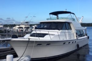 2001 Bayliner 4788 for sale in Ct. Original owner.